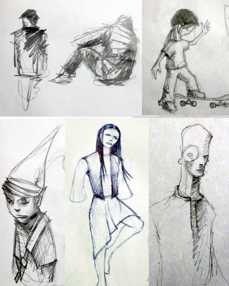 Sketchbook Drawings - Sketchbook